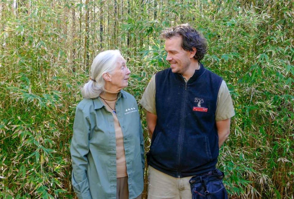 Jane Goodall Adelaide Zoo