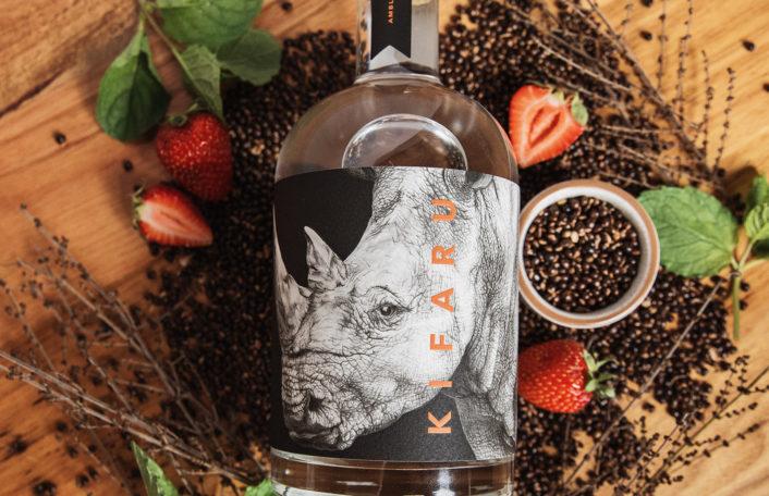 Kifaru Gin, Ambleside Distillers, rhino conservation